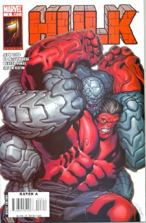 Hulk #3 Red Incredible Abomination Marvel comic book